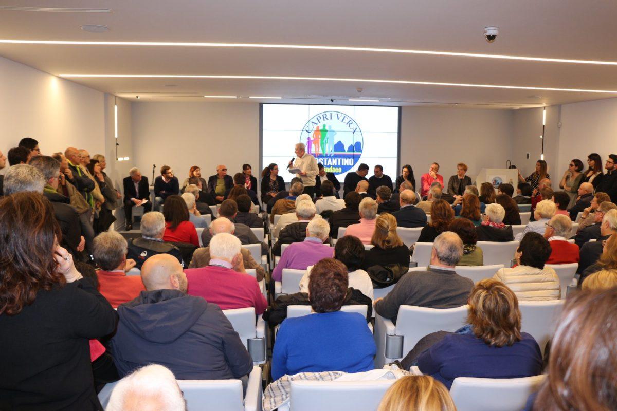 """Folla ed entusiasmo all'evento di presentazione della lista """"Capri Vera – Costantino Sindaco"""". Le foto"""