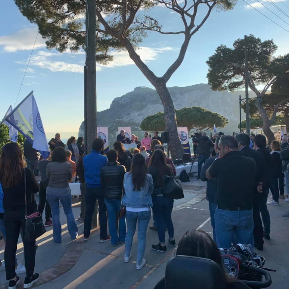GALLERY – Capri Vera incontra i cittadini di Matermania