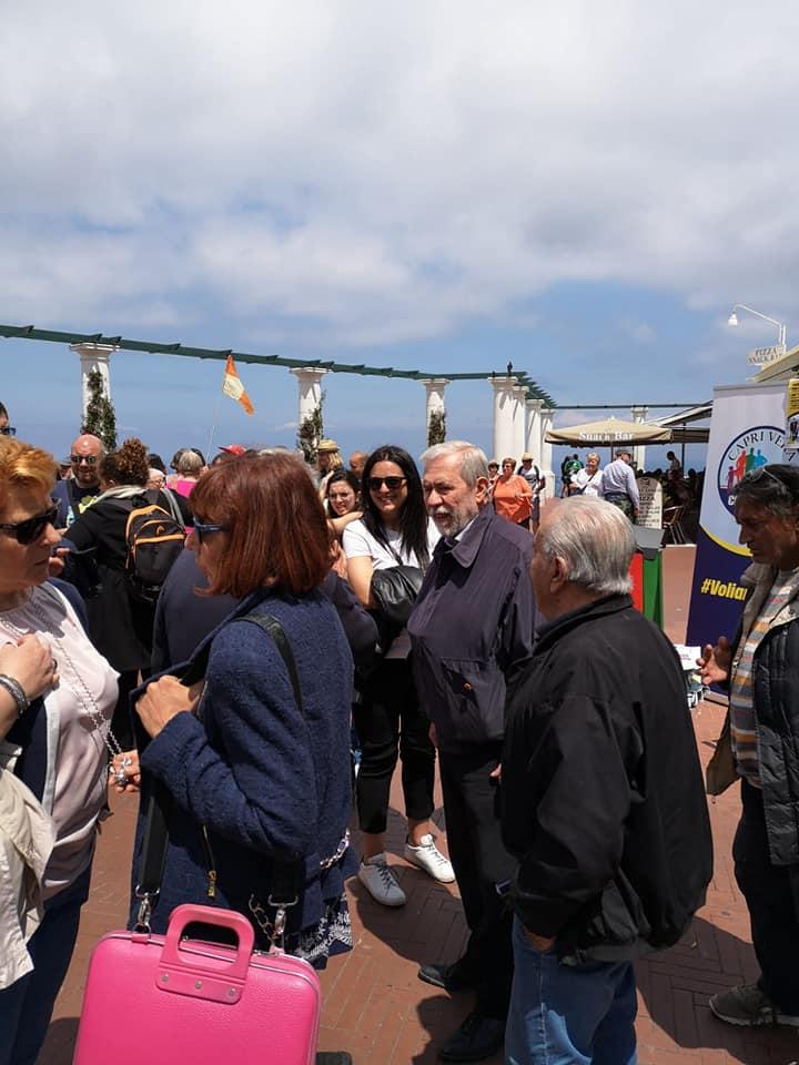 GALLERY – Capri Vera incontra i cittadini in Piazzetta