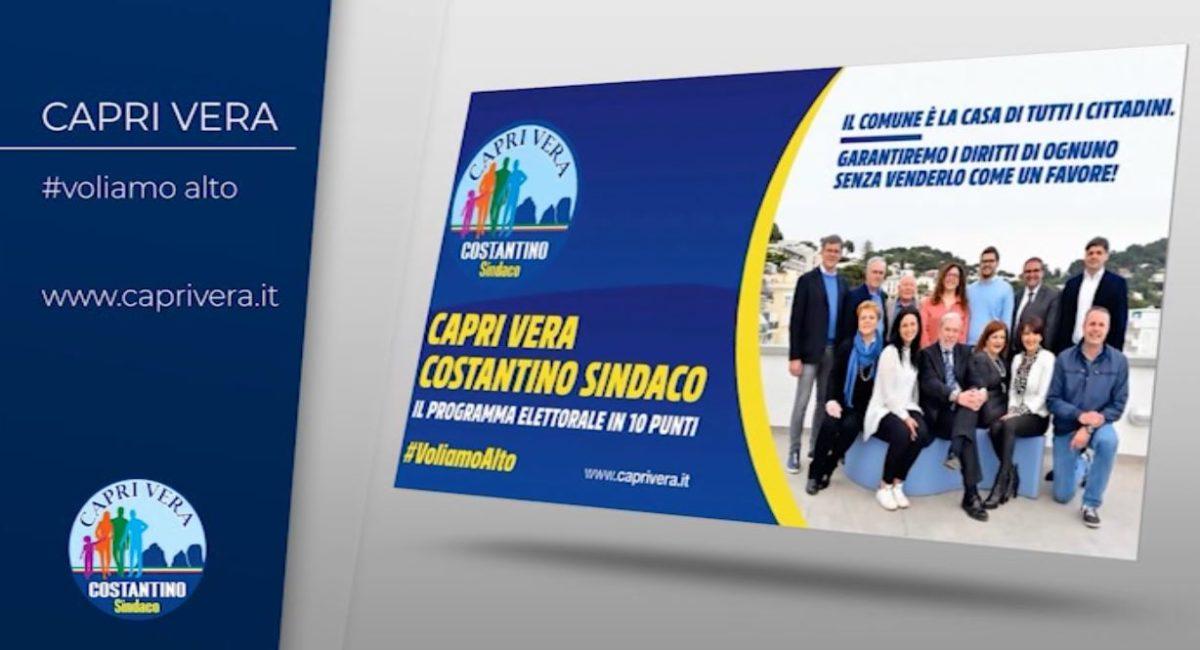 VIDEO – I punti principali del programma di Capri Vera